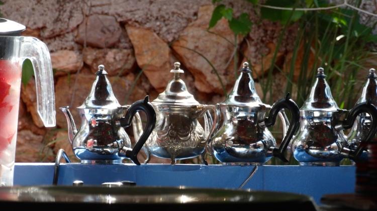 Super leuke thee potjes....op de Hippy Markt