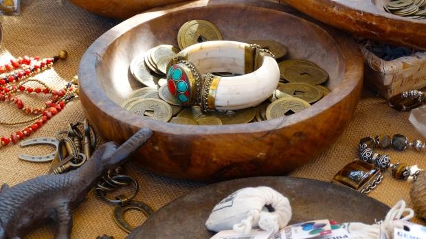 Prachtige sieraden van natuurlijke materialen