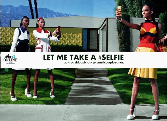 Cashback Selfie