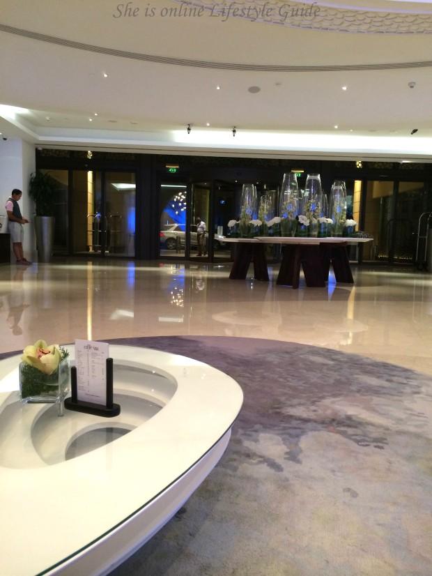 Lobby Hotel Ocean View