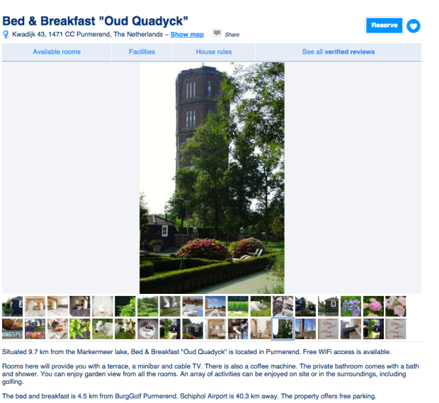 Bed & Breakfast Oud Quadyck streetview