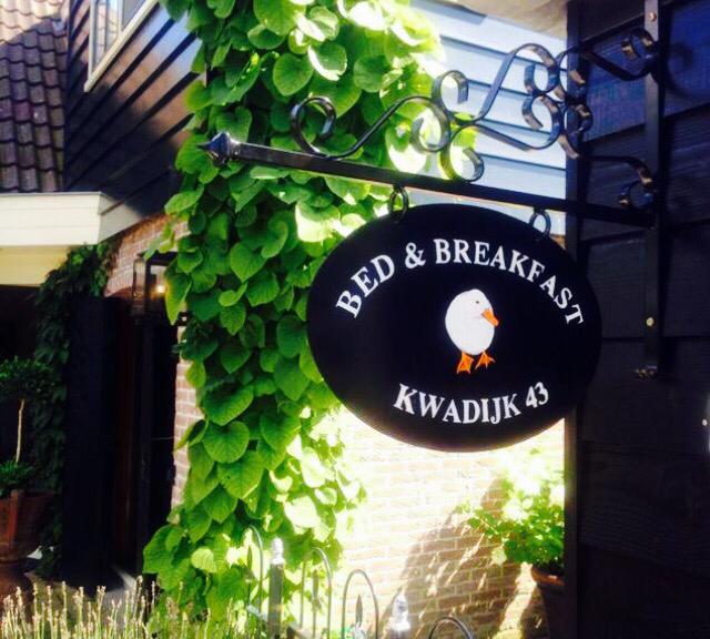 Bed & Breakfast Ouq Quadyck gelegen in het hart van Kwadijk.