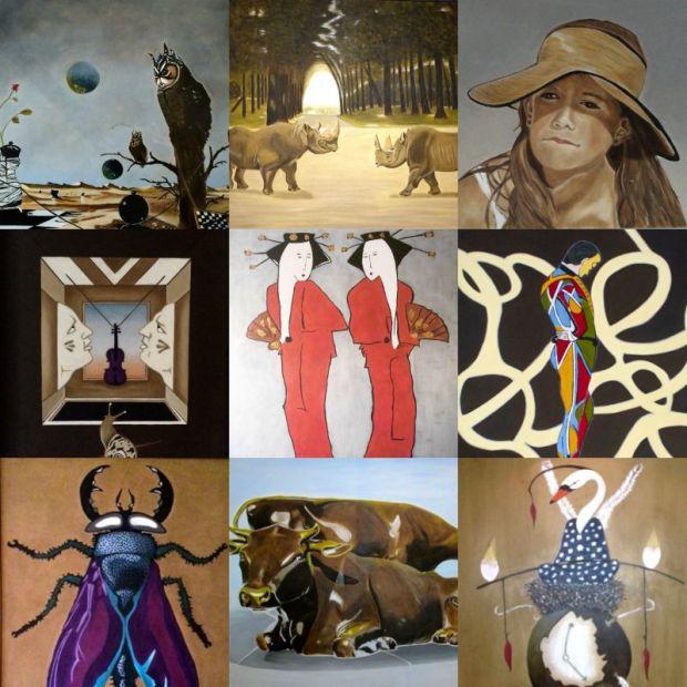 Overzicht van mijn schilderijen