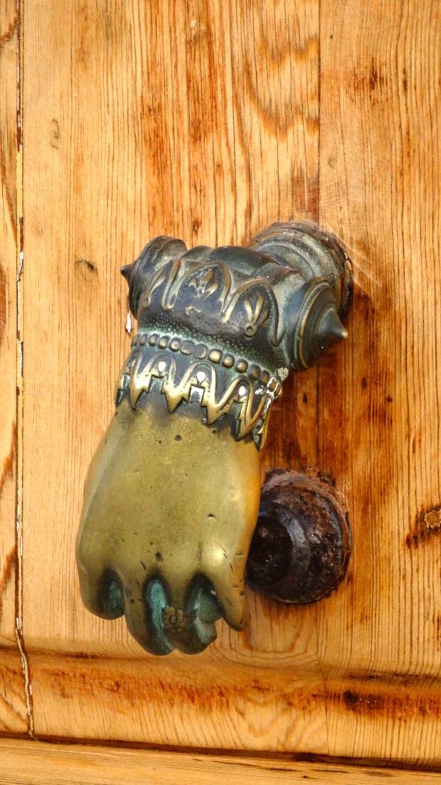 Bronzen Deurbel
