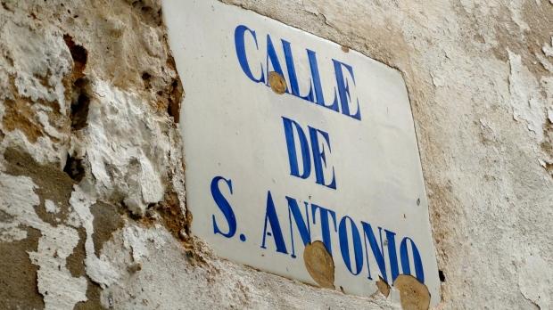 Calle de S. Antonio Ibiza