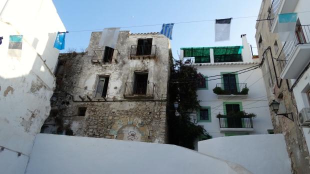Super kleine huisjes sieren de oude stad