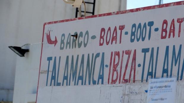 Opstapplaats bij Talamanca