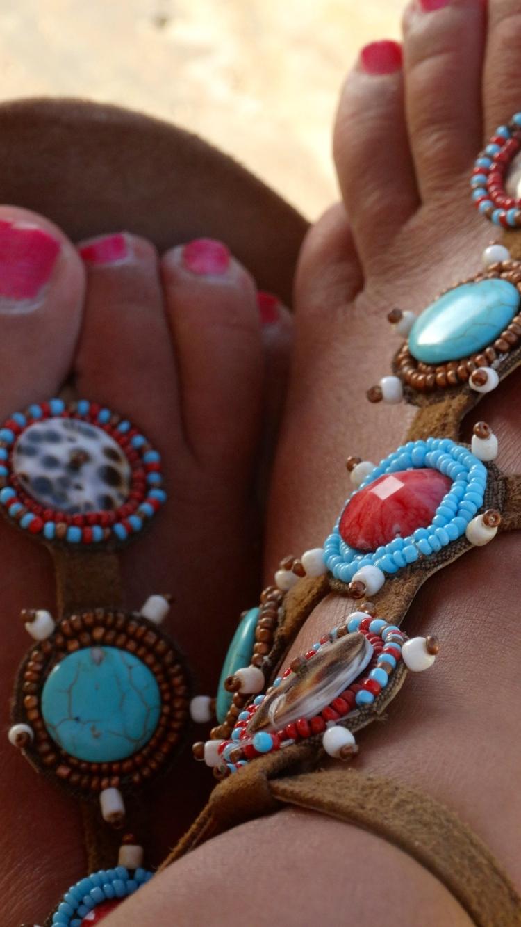 Hotlava slippers buli africa bestellen bij She is online
