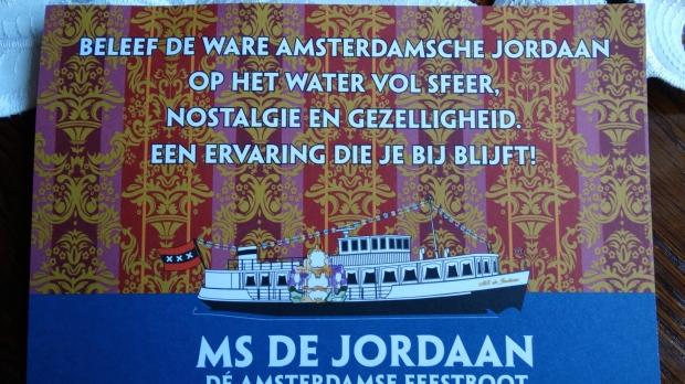 MS De Jordaanboot Amsterdam
