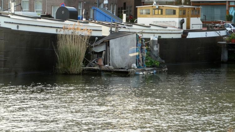 Ik heb een tuintje aan mijn boot... alleen voor jouw...!