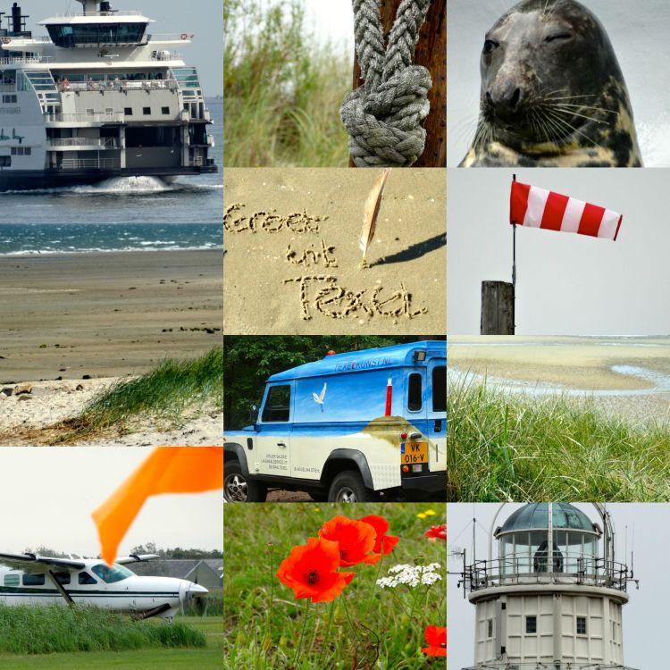 Texel collage groeten uit