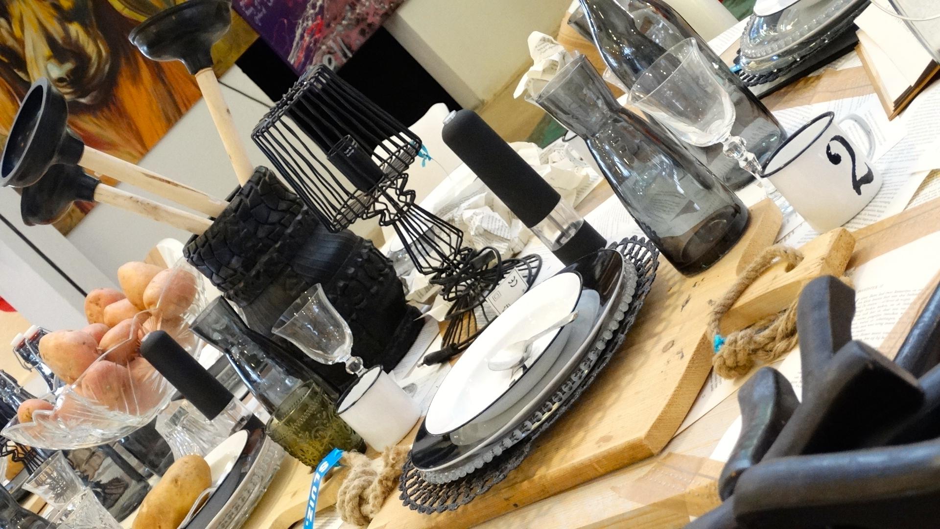 Bed & Breakfast table bij Sluiz