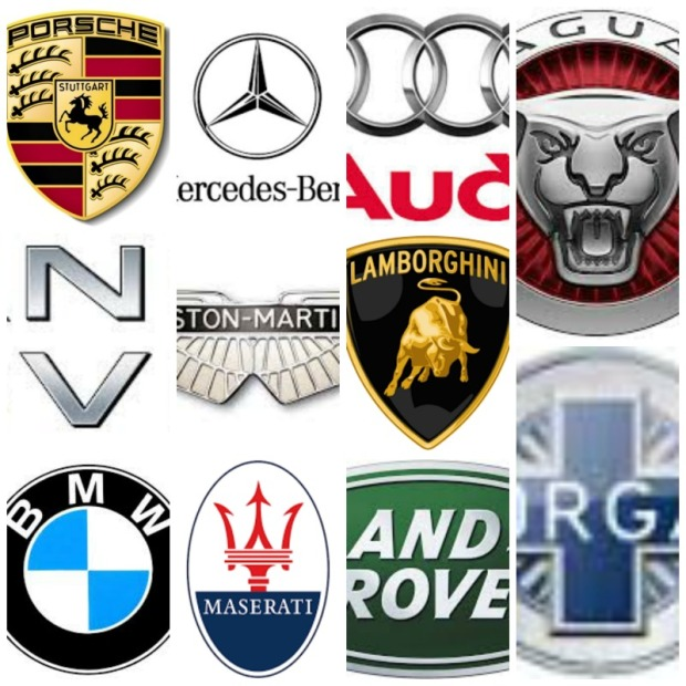 Logo's automerken
